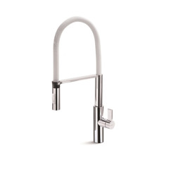63930Q.05.013_Libera Kitchen Mixer with White Spring Spray Chrome_WEB