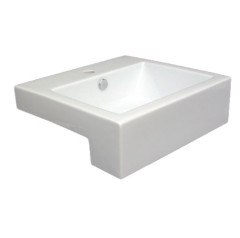 Cube Semi Recessed Basin