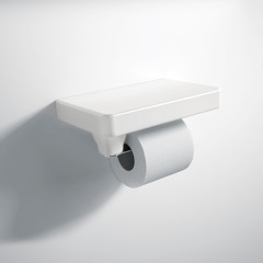Flat-toilet-roll-holder