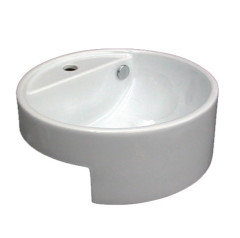 Giotto Semi Recessed Basin