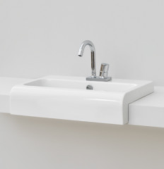 La Fontana 65 Semi Recessed Basin