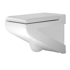 La Fontana Wall Hung Pan White