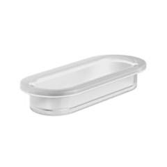 NE02B_Ellisse Glass Dish Only, Frosted_DP_JPG 1