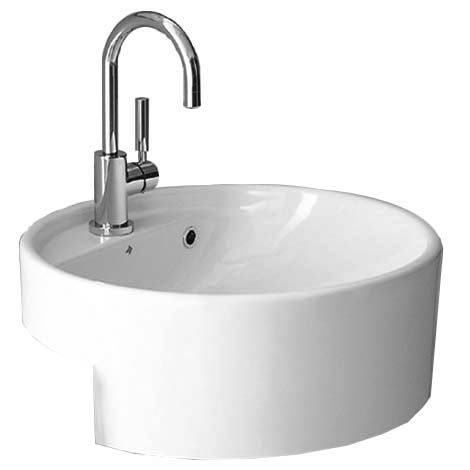 Twinset 525 1TH Semi Recessed Basin