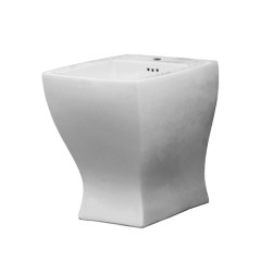 Jazz Wall Faced Bidet White