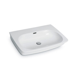 Neutra 70 bench wall basin