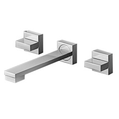 QCU.01-3W170_Cube Wall Set 170mm Square Spout_DP_JPG