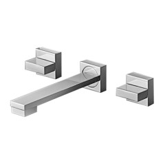 QCU.01-3W230_Cube Wall Set 230mm Square Spout_DP_JPG