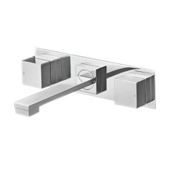 QQ.01-3WQ230_Quadro Wall Set with Square Spout 230mm on Backplate_DP_JPG