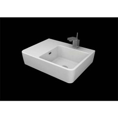QUASAR 60 Bench Basin_SMQU600LA_LEFT_ Web.