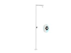 TO.08-1F.01_Tondo Outdoor Shower Column Matt White_DP_JPG