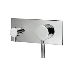 TOLE.04-D3Q_Tole Wall Mixer with 3 way Diverter Rectangular Plate_WEB