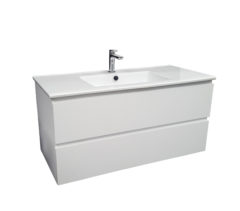 PB-1000D-MW_Pure Bianco 1000 Wall Mounted Vanity_Image