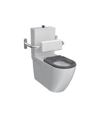 PN800B- Ellisse Accessible Toilet Suite with Backrest