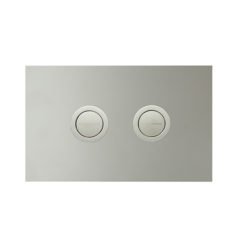 PA241 & PA242_Twin Button Set on Metal Plate Chrome WEB