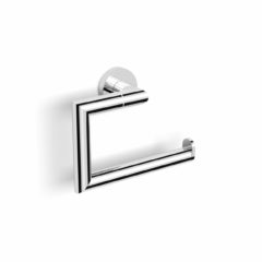 NE046-Tole Toilet Roll Holder Chrome_WEB