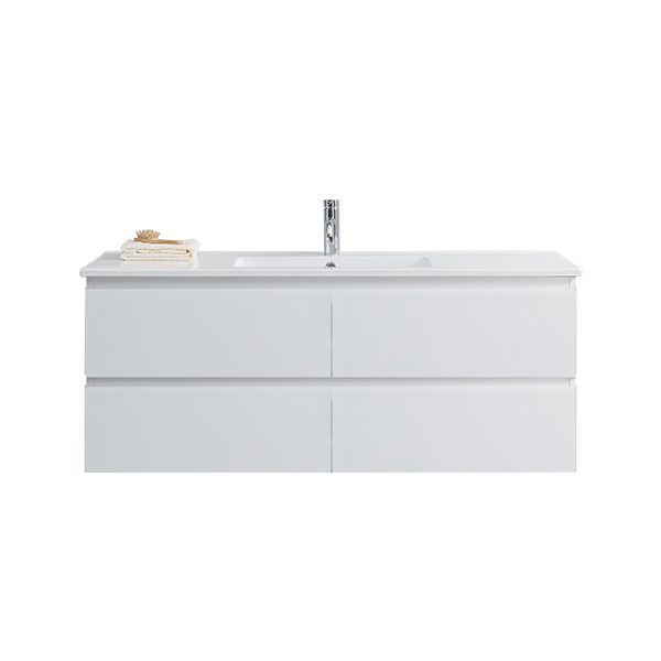 PB-1201FS-MW_Pure Bianco 1200 Floor Cabinet (Matt Wh) wSINGLE Ceramic Top CWEB
