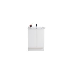 PBS-600FD-MW_Pure Bianco Slim 600 Floor Mounted Cabinet with Ceramic Top CWEB
